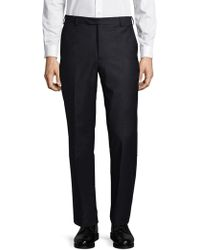 Armani - Front Pleat Trousers - Lyst