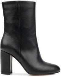 Splendid Kash Leather Ankle Boots - Black