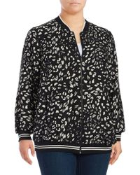 Vince Camuto - Patterned Print Jacket - Lyst