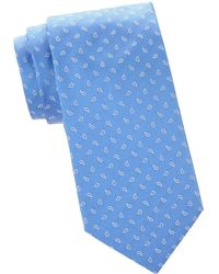 Armani - Printed Silk Tie - Lyst