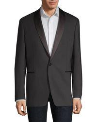 Theory Regular-fit Shawl Tuxedo Jacket - Black