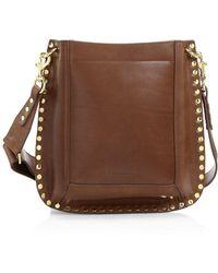 Isabel Marant Oskan Leather Hobo Bag - Multicolour