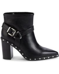 Charles David Decker Box Boots - Black