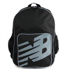 New Balance Men's Logo Backpack - Black
