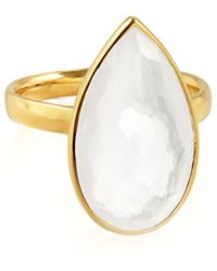 Ippolita - Rock Candy 18k Gold Teardrop Solitaire Ring - Lyst