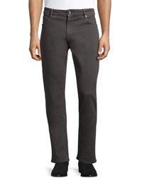 PT01 Men's Modern-fit Pt05 Colour Cotton Stretch Jeans - Dark Grey - Size 38