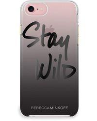 Rebecca Minkoff Stay Wild Iphone 7 Case - Black