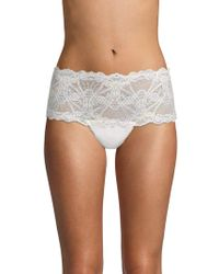 Mimi Holliday by Damaris - Scalloped-trim Lace Hipster - Lyst