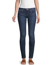 True Religion Stella Low-rise Skinny Jeans - Blue