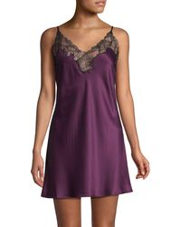 Natori Embroidered Lace Chemise