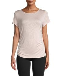 Marc New York Ruched T-shirt - Multicolour