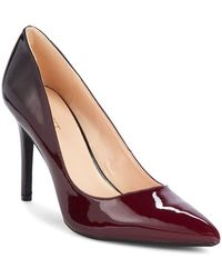 Nine West Filled Point-toe Stiletto Heel Pumps - Red