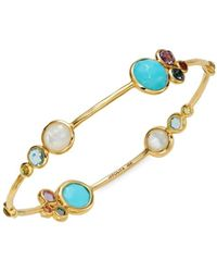 Ippolita Women's Lollipop 18k Yellow Gold & Multi-stone Bangle Bracelet - Metallic