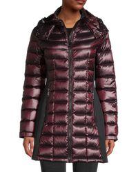 Calvin Klein Metallic Packable Down Puffer Jacket - Multicolour