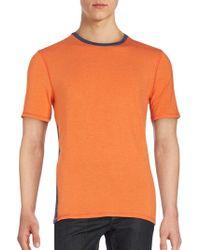 Revo - Two-toned Short Sleeve T-shirt - Lyst