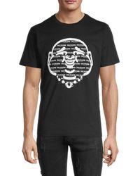 True Religion Men's Buddha Graphic Logo T-shirt - Kalamata - Size Xxl - Black