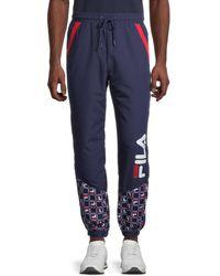 Fila Van Sant Jogger Trousers - Blue
