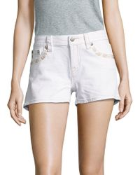 Miss Me - Five-pocket Stretchable Shorts - Lyst