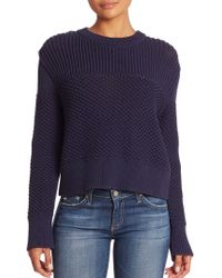 Public School - Bond Knit Crewneck Sweater - Lyst