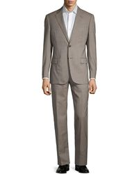 Armani G-line Fit Check Virgin-wool Suit - Grey