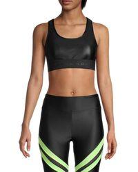 Koral - Women's Mesh-back Sports Bra - Black - Size Xs - Lyst