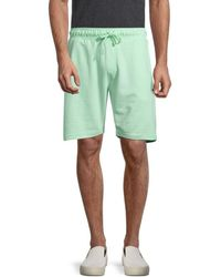 Trunks Surf & Swim Men's Terry Drawstring Shorts - Washed Pink - Size S - Green