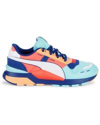 PUMA Men's Rs 2.0 Mixed-media Trainers - Blue - Size 12