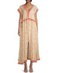 Free People Milania Floral Maxi Dress - Multicolour