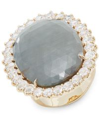Marco Bicego - Gray Sapphire & Diamond Cocktail Ring - Lyst