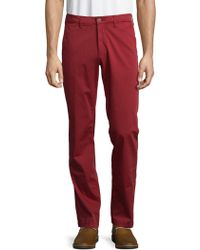 Saks Fifth Avenue - Stretch Cotton Chinos - Lyst