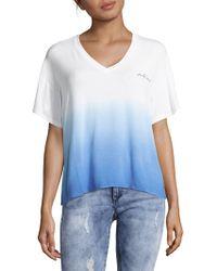 Peace Love World - Mia V-neck T-shirt - Lyst