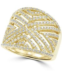 Effy - Diamond And 14k Yellow Gold, 0.8 Tcw - Lyst