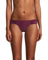 Robin Piccone Geometric Bikini Bottom - Multicolour