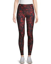 58cf52a1b11 Camouflage-print High-rise Leggings