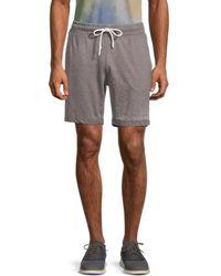 Sovereign Code Estate Drawstring Heathered Shorts - Grey