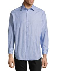 Robert Graham - Embroidered Dress Shirt - Lyst