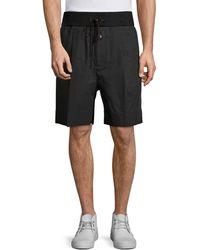 3.1 Phillip Lim Pleated Walking Shorts - Black