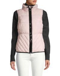 Marc New York Packable Vest - Pink