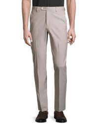 Tommy Hilfiger Men's Slim-fit Suit Separates Trousers - Tan - Size 38 32 - Brown