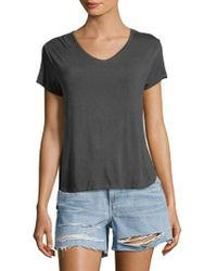 C&C California - Short-sleeve Classic Top - Lyst