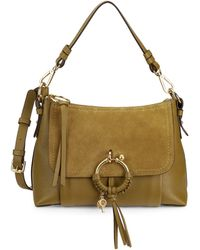 See By Chloé Small Joan Leather Shoulder Bag - Multicolour