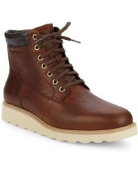 Cole Haan - Nantucket Leather Boots - Lyst