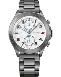 Tommy Hilfiger Hudson Stainless Steel Bracelet Watch - Multicolour