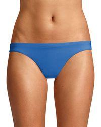 Kisuii Stretch Hipkini Bottoms - Blue