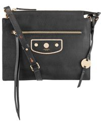 Lodis - Pismo Pearl Kay Accordion Leather Crossbody Bag - Lyst