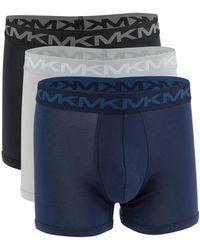 Michael Kors 3-pack Boxer Briefs - Blue