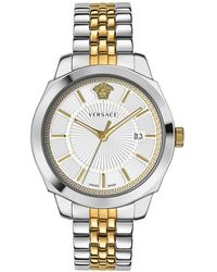Versace Ion Classic Gent Two-tone Stainless Steel Bracelet Watch - Metallic