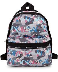 LeSportsac - Candace Camo Backpack - Lyst