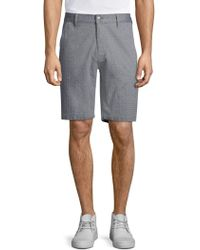 7 For All Mankind - Print Chino Shorts - Lyst