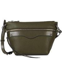Rebecca Minkoff Mini Hayden Leather Crossbody Bag - Multicolor